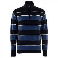 Джемпер Pierre Cardin Quarter Zip Striped Navy - Оригинал