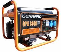 Электрогенератор бензиновый GERRARD GPG3500 (2,5/2,8кВт; 220В)