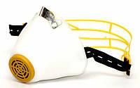 Респератор У2К высший сорт (ЯК-Ж) белый цвет, наголовник пластик