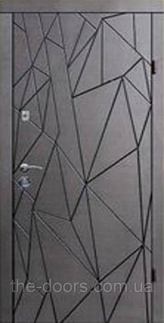 Дверь входная Статус металлическая модель Х9