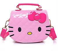 Маленькая детская розовая сумочка для девочки.ДС4