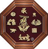 Коллаж Скифское золото 8-ми-гранник