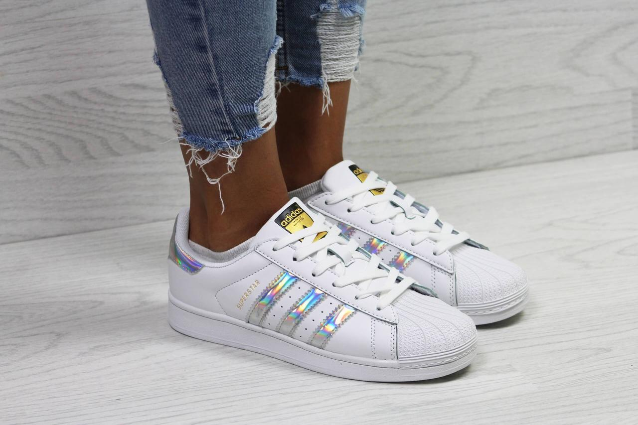 Кроссовки Adidas Superstar White Metallic Gold - Интернет магазин обуви «im-РоLLi»  в b102d7e2560