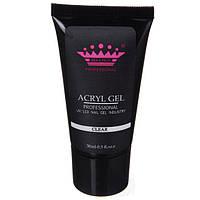 Acryl gel (поли гель)  Master Professional , 30 мл  (Clear)