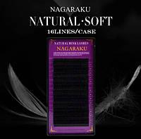 Ресницы Nagaraku изгиб  С 0.10 -12mm, фото 1