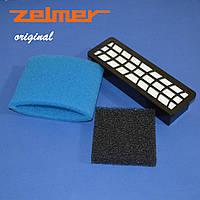 Комплект фильтров для пылесоса Zelmer ZVCA752S (A9190080.00) 794784. (оригинал)