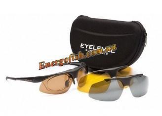 Очки Eyelevel поляризационные Challenger Black(3+1черн.кор.желт+диоптрии)