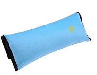 Подушка-накладка SUNROZ на ремень безопасности для детей Голубой (SUN1267)