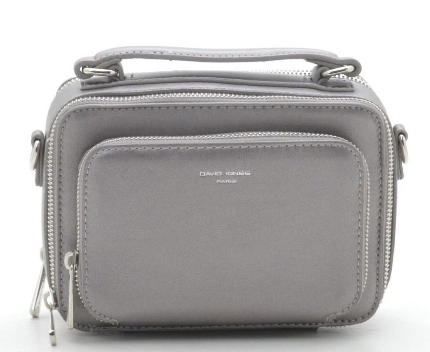9c996cc5351f Женская сумка клатч David Jones CM3966 d. silver т.бронза Женские клатчи  сумки через плечо, женские клатчи