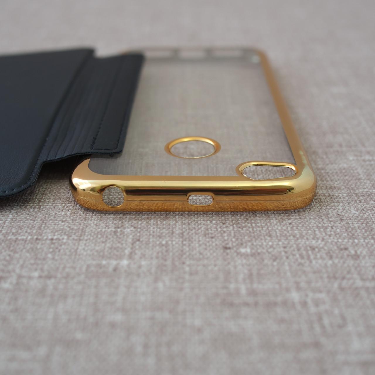 Чехлы для Xiaomi Redmi 4X Book Cover 4x black Для телефона