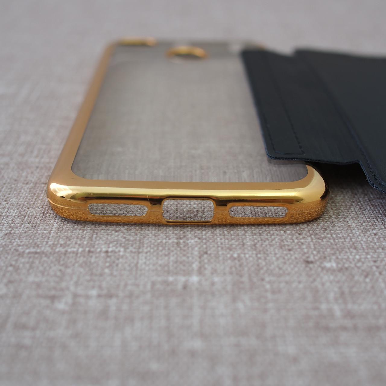 Чехлы для Xiaomi Redmi 4X Book Cover 4x black