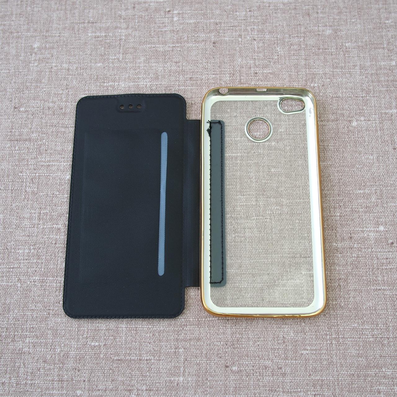 Чехол Book Cover Xiaomi Redmi 4x black 4X Для телефона Черный