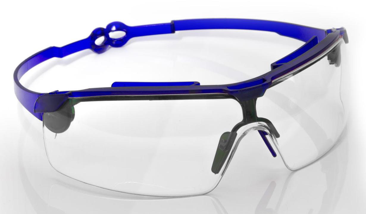 Очки прозрачные поворотные удлинённые дужки,не потеющее стекло поликарбонат, антицарапина