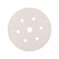 Круг шлифовальный Smirdex 510 White Line абразивный, для сухой шлифовки, диаметр 150мм, 7 отверстий, Р=500