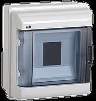 Щит наружн 5 модулей КМПн-5 IP55 корпус пластиковый IEK