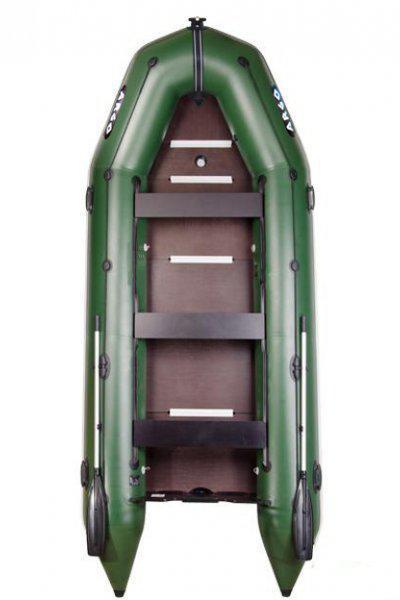 ПВХ лодка килевая пятиместная моторная (АМ-420К)