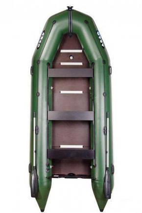 ПВХ лодка килевая пятиместная моторная (АМ-420К), фото 2