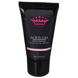 Acryl gel (поли гель)  Master Professional , 30 мл  (Yellowish pink)