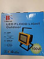 Фонарь Led Flood Light  204 30W Ручной прожектор с полицейской мигалкой