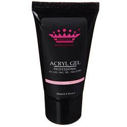 Acryl gel (поли гель)  Master Professional , 30 мл  (Pink)