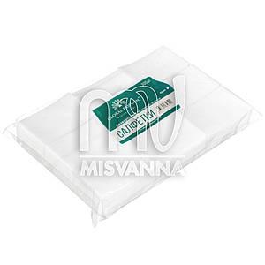 Безворсовые салфетки Global Fashion 6х5 см, 300 шт плотные