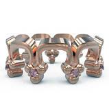 Кольцо  женское серебряное Корона Перевернутая Os 2259, фото 2