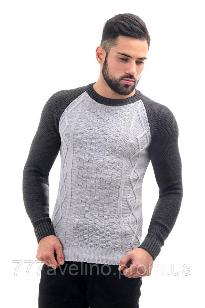 39e425948316e Мужской джемпер реглан стильный свитер : купить в Харькове, Украине ...
