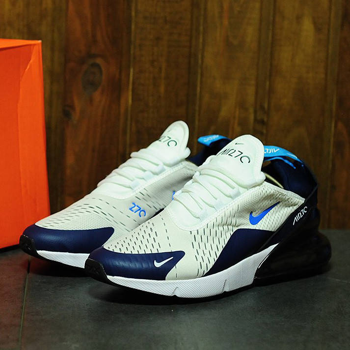 Nike Air Max 270 White Blue (реплика)