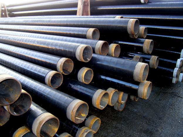 Труба сталева в гідроізоляції діаметром 108 мм