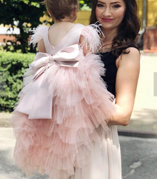 Дитяче плаття - Лебідь
