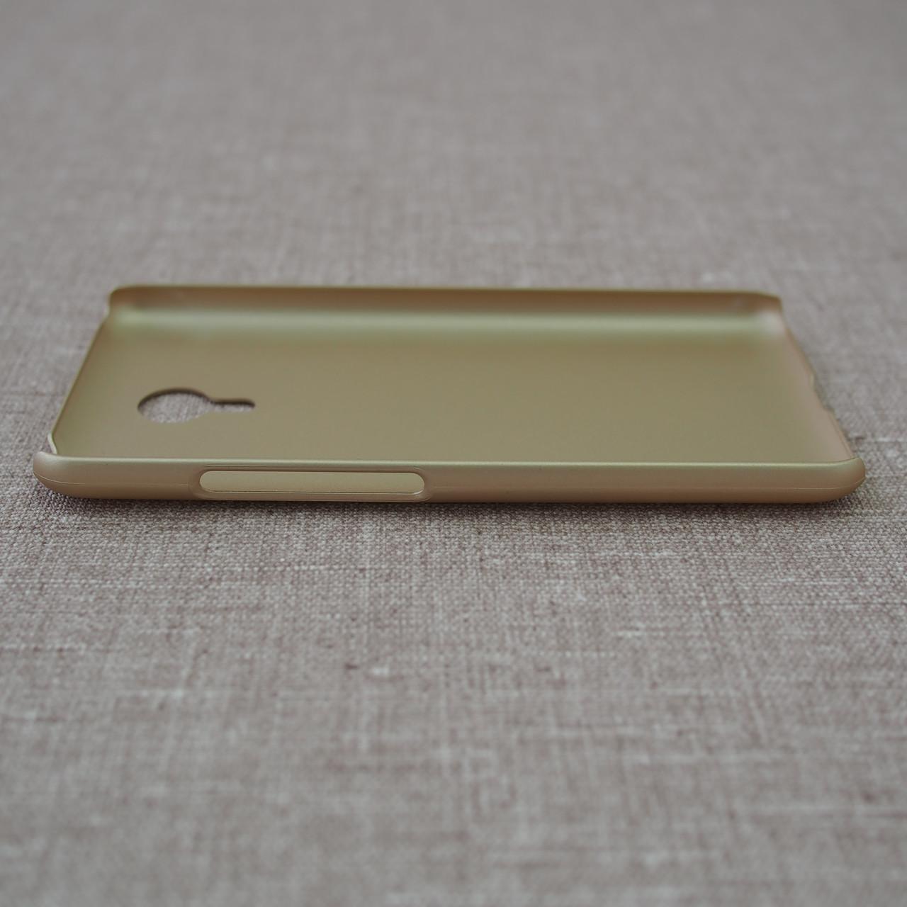 Чехлы для Meizu Nillkin Super Frosted Shield M2 Note gold Для телефона