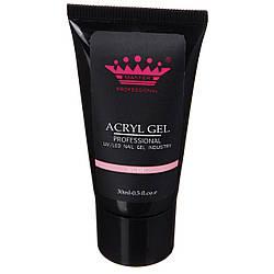 Acryl gel (поли гель)  Master Professional , 30 мл  (Nude)