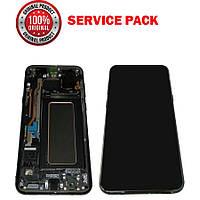 Дисплей + сенсор Samsung G955 Galaxy S8 PLUS Черный с рамкой Оригинал 100% SERVICE PACK GH97-20470A