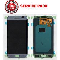 Дисплей + сенсор Samsung J530 J5 PRO 2017 Серебристый Original 100% SERVICE PACK GH97-20738B