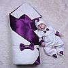Демисезонный набор на выписку Beauty+Корсар, фиолетовый