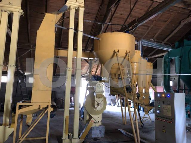 Производство топливной пеллеты из древесного сырья (сосна)