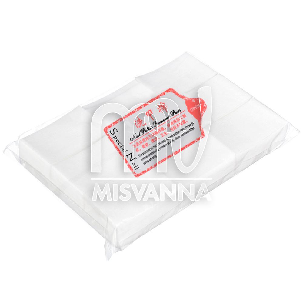 Безворсовые салфетки Special Nail 6х4см, 800 шт плотные