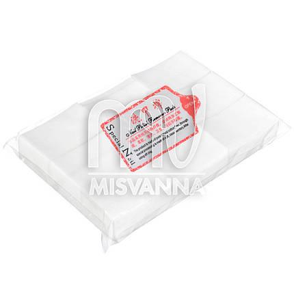 Безворсовые салфетки Special Nail 6х4см, 800 шт плотные, фото 2