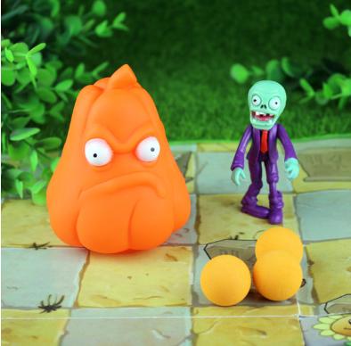 Игрушка Растения против зомби Тыква оранжевая Plants vs zombies