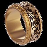 Кольцо мужское серебряное С Вензелями Os 2266, фото 2