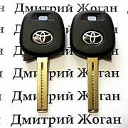 Ключ для Toyota (Тойота) с чипом 4C, лезвие TOY48