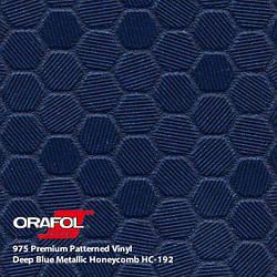 Oracal 975 Honeycomb Deep blue metallic