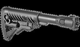 M4VZP Приклад складной FAB Defense для VZ. 58, полимер, черный