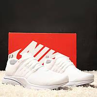 Женские кроссовки Nike Air Presto White (реплика)