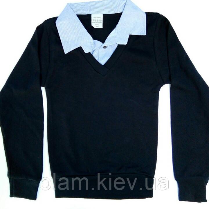 914df529db6 Кофта-обманка школьная на мальчика 13-14 лет.  продажа