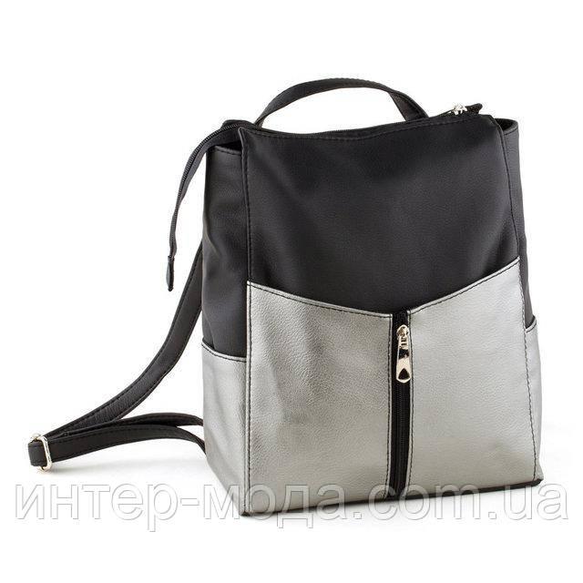 Рюкзак Rjet без клапана черный флай