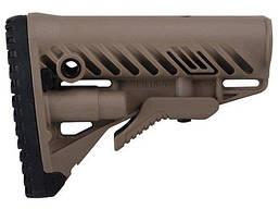 SBTK47FK+GLR16 Приклад телескопический с амортизатором FAB для AK 47, песочный