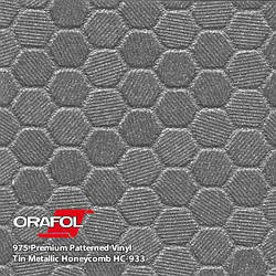 Oracal 975 Honeycomb Tin metallic