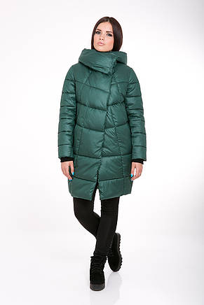 Куртка зимняя женская Kattaleya KTL-203 цвета зеленый cotton (#50), фото 2