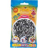 Термомозаика Hama Набор бусин под серебро 1000 шт midi (207-62), фото 1